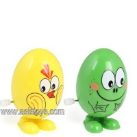 Wind up cartoon egg