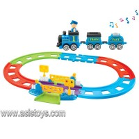 Battery Operated Railway Train with steward
