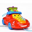 Musical cartoon car