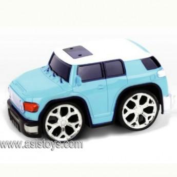 4 CH R/C simulation car with man