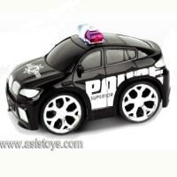 4 CH R/C police car with man