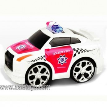 4CH R/C police car with man