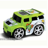 4 CH R/C cartoon mini car