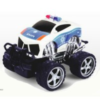 4CH cross country R/C police car