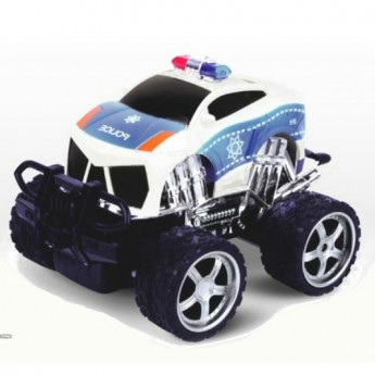 4 CH cross country R/C police car with man