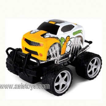 4 CH cross country R/C mini car with man