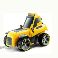 4 CH mini construction R/C car