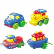 Free wheel cartoon car