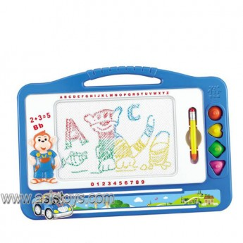 Colorful drawing board