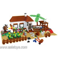 Farm series 483 pcs