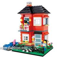 Villa series 390 pcs