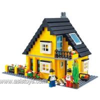 Block Series 458 pcs