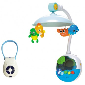 CRIB MOBILE BELL BED-RC