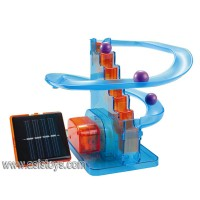 Educational DIY Solar Roller Coaster Toy