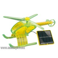 Educational DIY Solar Helicopter Plane Toy