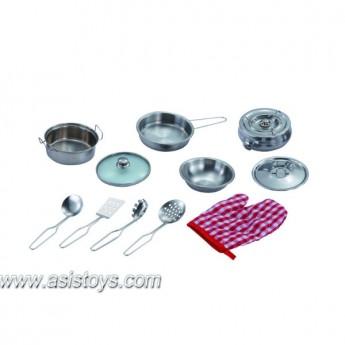 Stainless Steel  Kitchen Set
