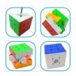 3*3*3 6-solid color customized plastic magic cube
