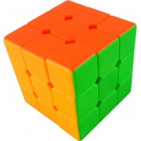 3*3*3 6-solid color customized plastic magic cube